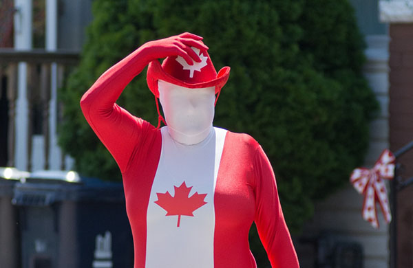 canada day weird costum